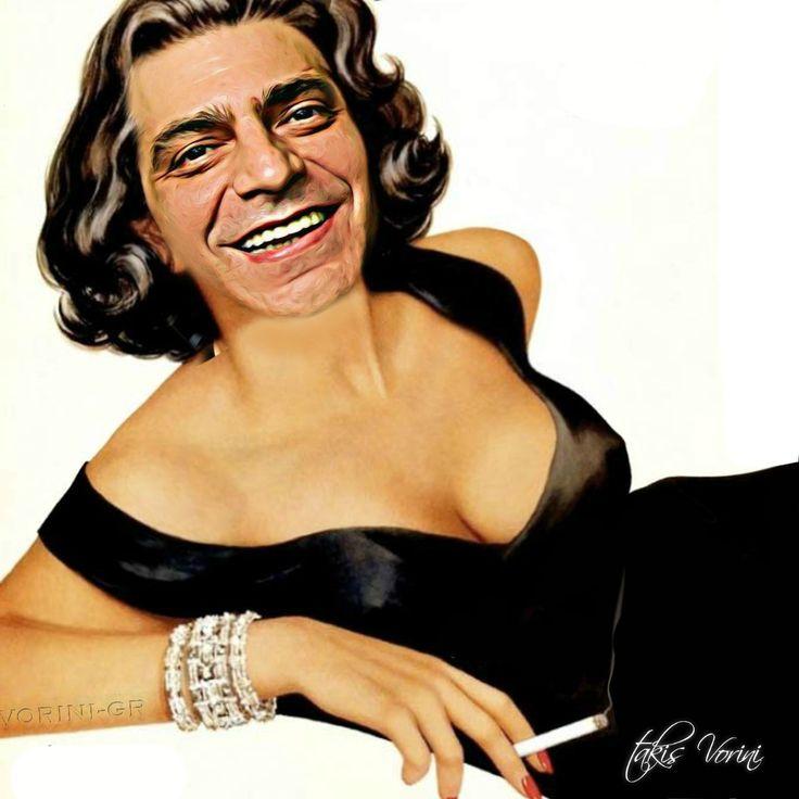 vorini-gr: Χωρίς κανέναν απολύτως λόγο ντύνεται πλέον γυναίκα ο Γιάννης Σερβετάς