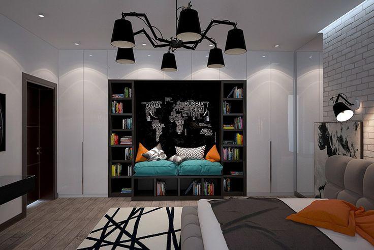 Best 25 teen bedroom designs ideas on pinterest modern for Funky bedroom designs