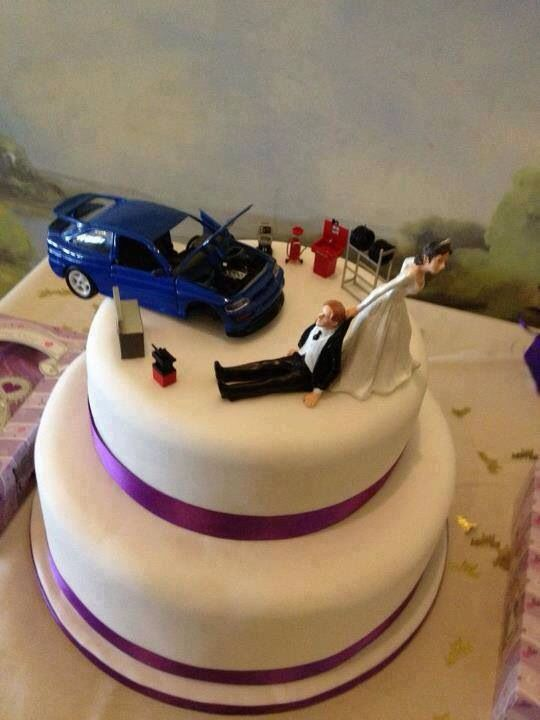 rally car wedding cake topper car guys cake gear amp gadgets cakes 18964