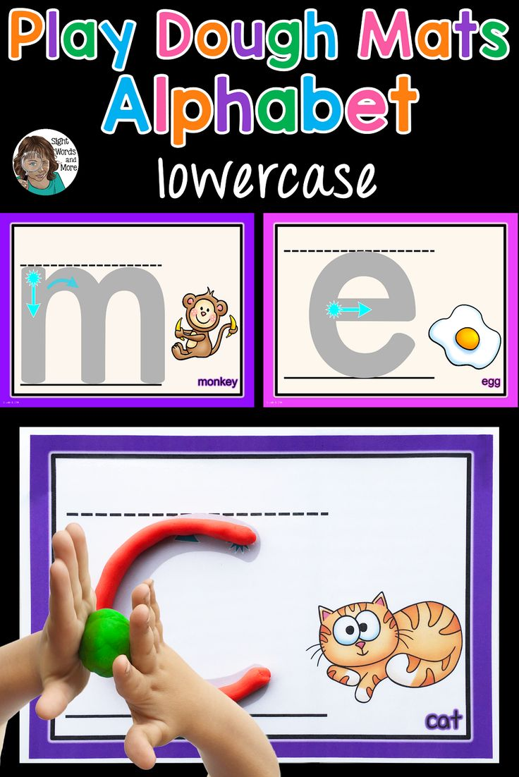 98 best sight words images on pinterest alphabet playdough mats with letter formation cues mitanshu Image collections