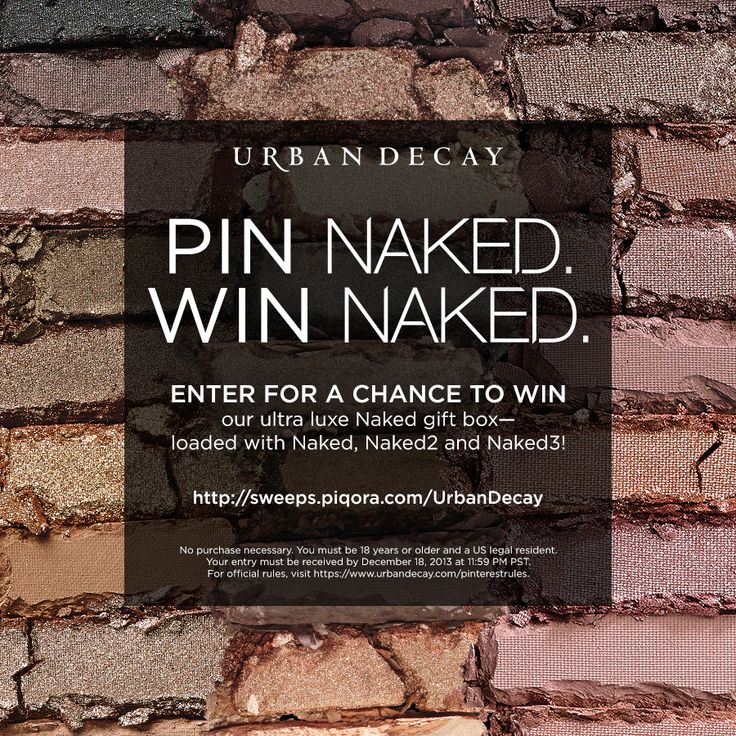 Pin Naked. Win Naked. Click the image to enter!