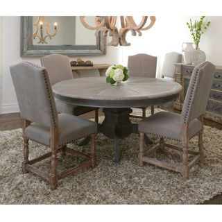 Greg Round Dining Table | Overstock.com Shopping - The Best Deals on Dining Tables