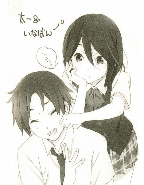 Love how Kokoro Connect ended. They make a great couple!