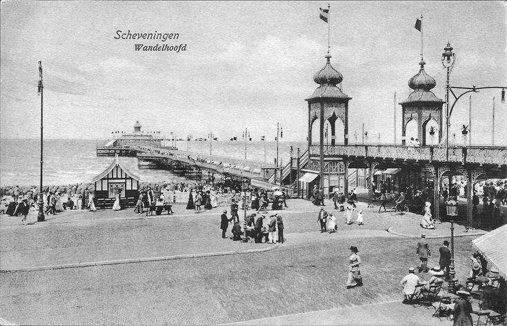 De eerste pier van 1901