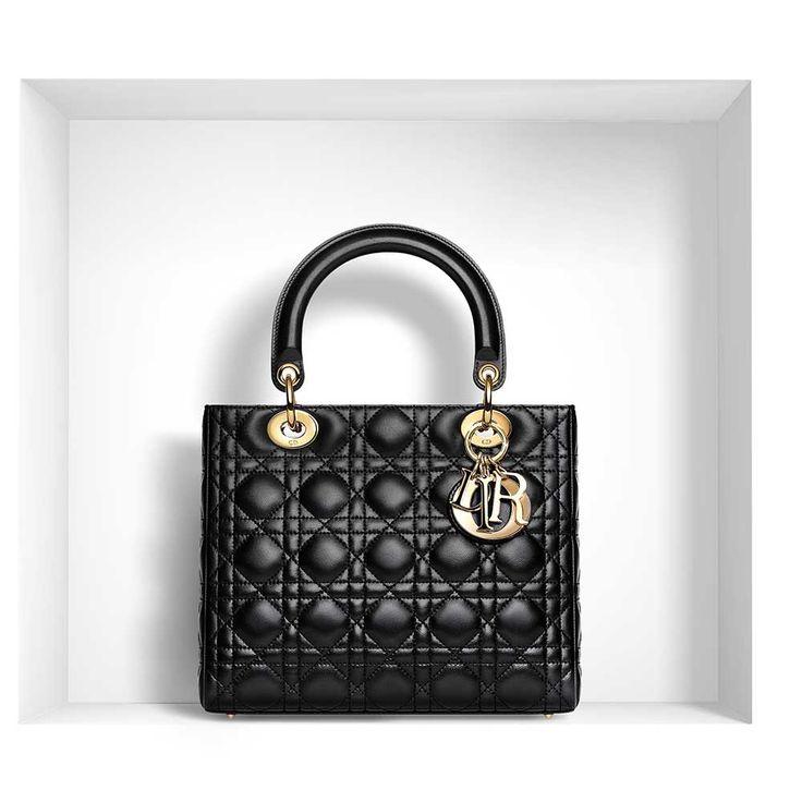 Dior - Lady Dior Çanta Siyah - 10 #Dior #Dior-LadyDior #Çanta
