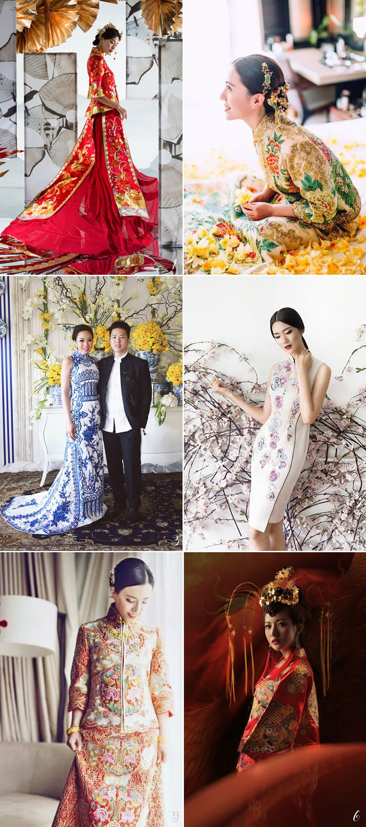 30 Jaw-Droppingly Beautiful Traditional Asian Bridal Gowns With A Modern Twist!