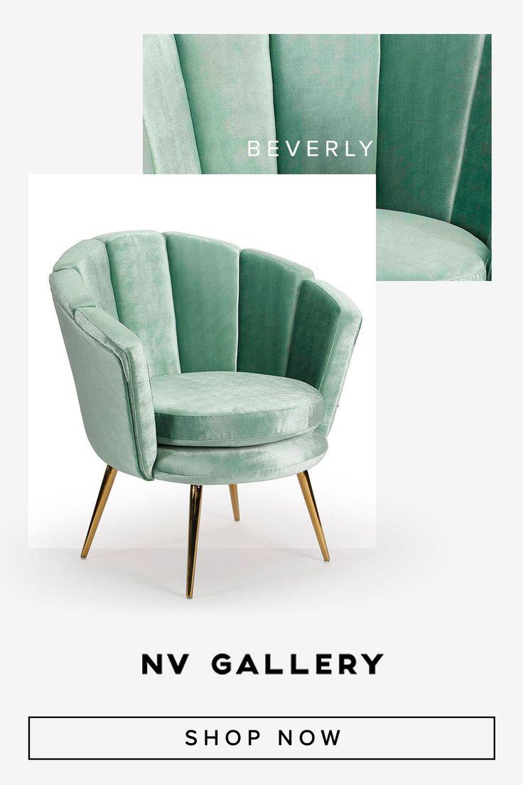 BEVERLY | Ausgefallener Design Sessel