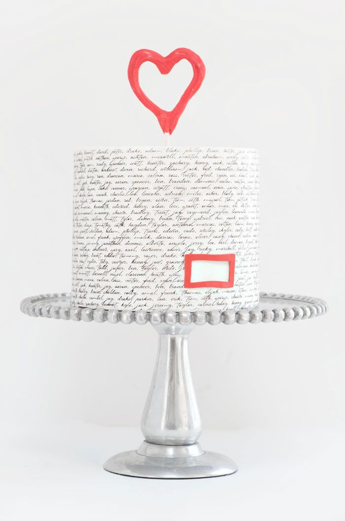 Blank Space Cake Inspired by Taylor Swift | Sprinkles for Breakfast