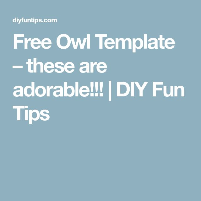 The  Best Owl Templates Ideas On   Owl Embroidery
