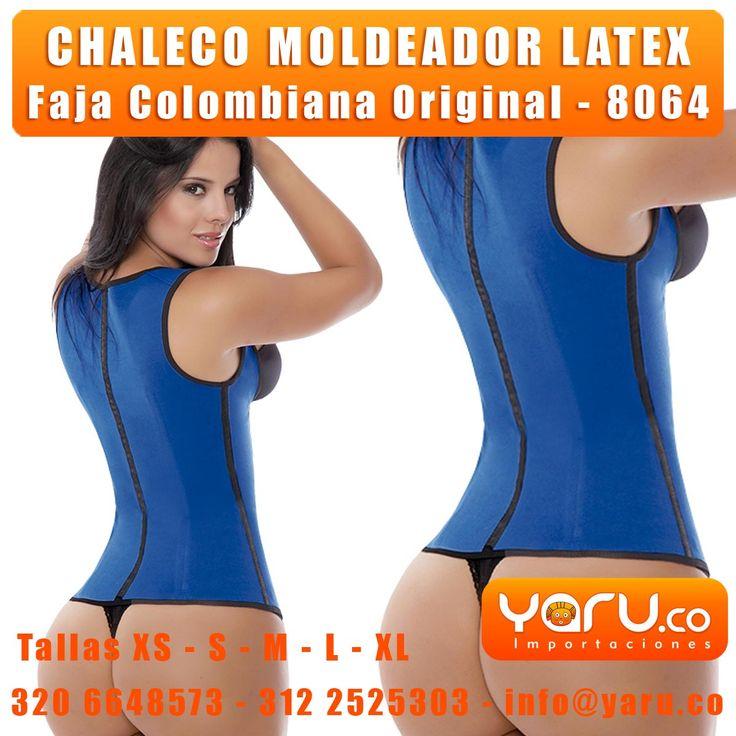 YARU IMPORTACIONES - www.Yaru.co - Chaleco de Latex 2 y 3 lineas de ganchos, Chalecos de Latex Originales Colombianas, Faja Cintura De Avispa, Fajas Salome, Fajas Ann Chery, Fajas Leonisa, Fajas Moldeate, Fajas Fajate, WaisTrainer, WaisTraining