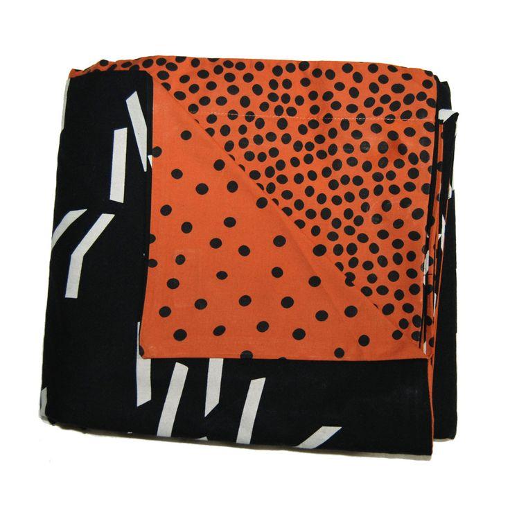 Kip Amp Co Double Sided Duvet Cover In Black Matchstick