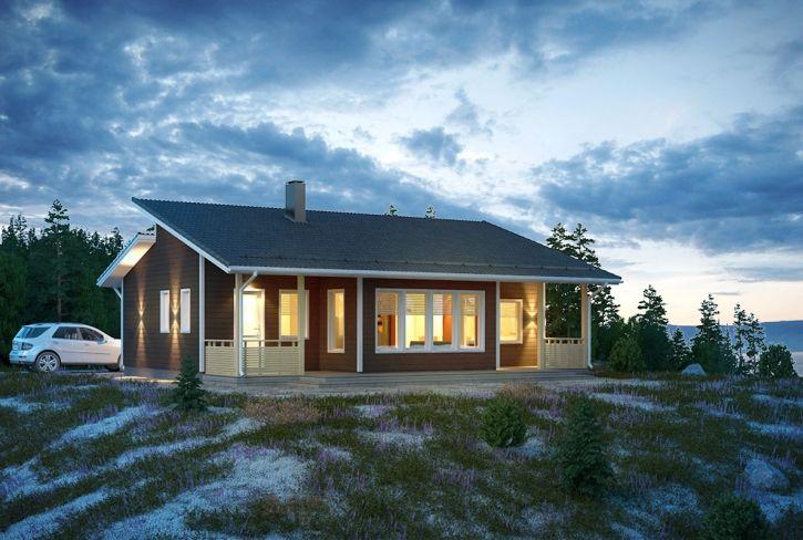 Selkeälinjainen ja ylellinen – Niittyranta: 88 m², 2 makuuhuonetta