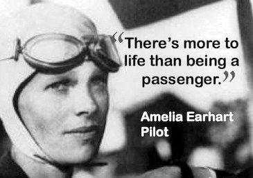Amelia Earhart, born July 24, 1897