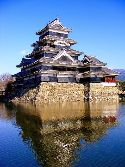 """Matsumoto Castle is one of Japan's premier historic castles. The building is also known as the """"Crow Castle"""" due to its black exterior. It w..."""