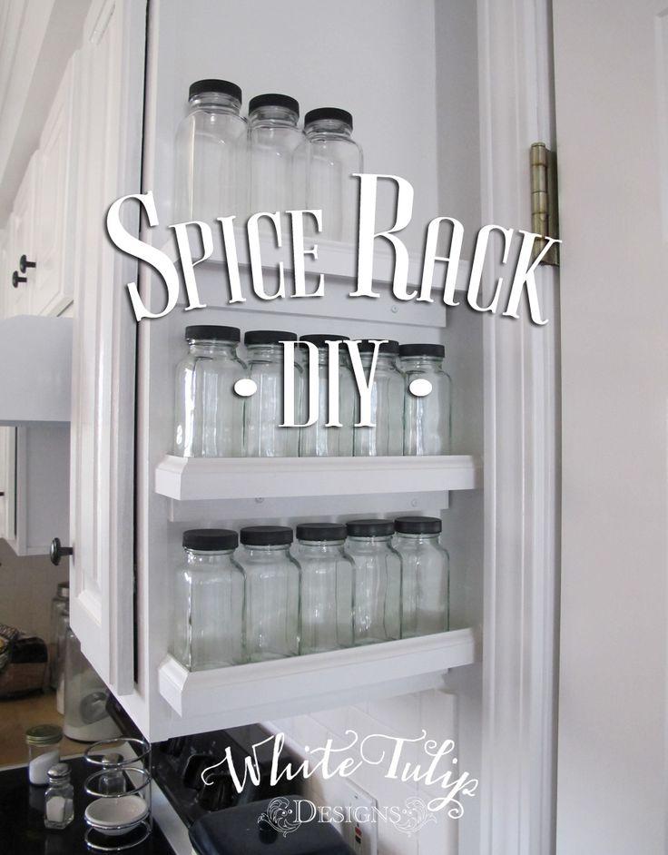 Spice Rack DIY | Hometalk