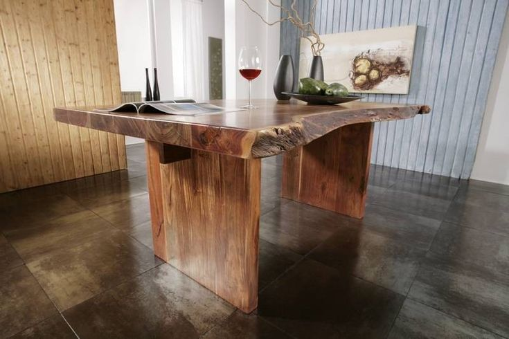 Baumtisch FREEFORM #105 250x110 Akazie lackiert Jetzt bestellen - küche kiefer massiv