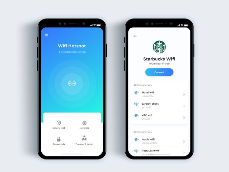 Wifi discovery app  - Daily UI Challenge 35/365 by Christian Vizcarra