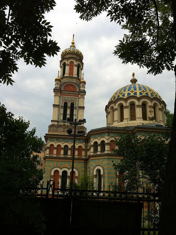 Synagogue in Łódź