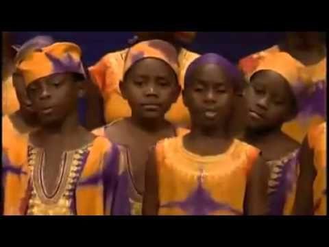 Meu Deus o que é isso? Essas Crianças Africanas Louvando a Deus é Magnifico!!! - YouTube