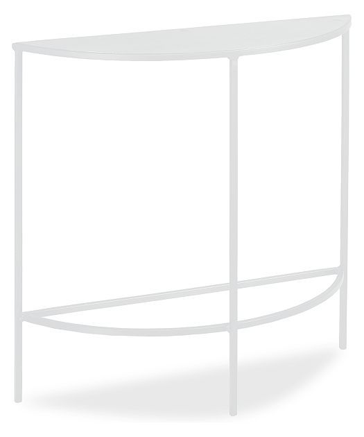 slim console tables in colors