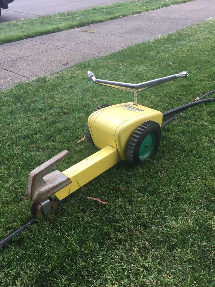 Traveling Lawn Sprinkler Tractor : Best images about old lawn on pinterest water
