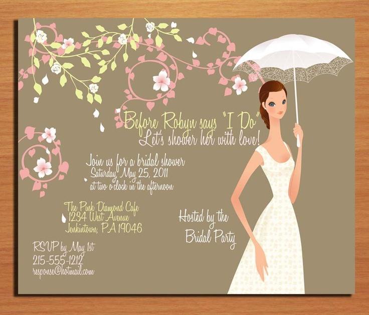 27 best Southern Belle Bridal Shower images on Pinterest - printable bridal shower invites