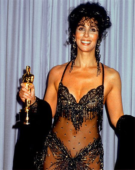 1988: Cher wins the Academy Award for Best Actress for her performance in 1987's Moonstruck