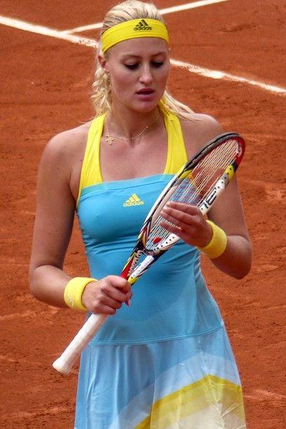 La tenista gala Kristina Mladenovic