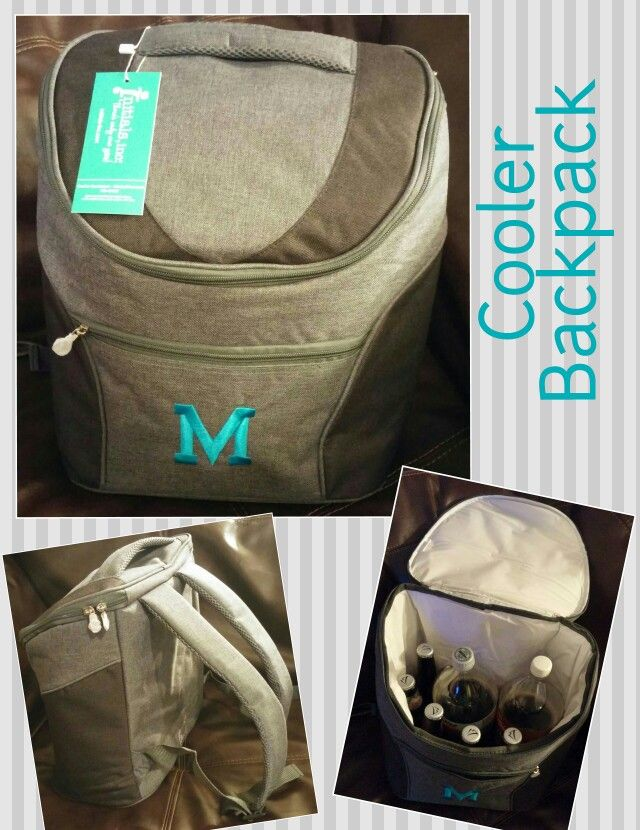The Cooler Backpack by Initials, Inc. is a stylish and useful gift for the special people in your life, especially men! To get yours, visit my Initials, Inc. Website @ www.myinitials-inc.com/Ivey