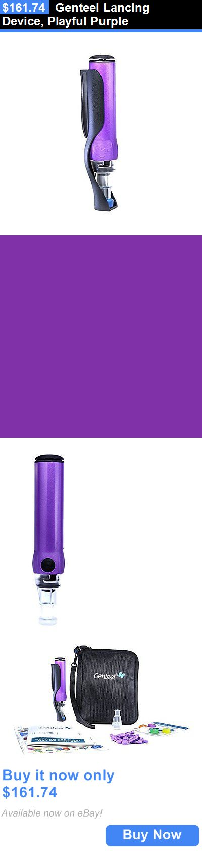 Lancets: Genteel Lancing Device, Playful Purple BUY IT NOW ONLY: $161.74