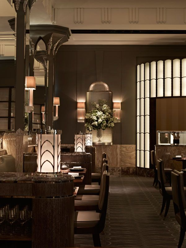 233 best restaurant images on pinterest restaurant design bar five things to love about fera londons newest top end restaurant at claridge malvernweather Gallery