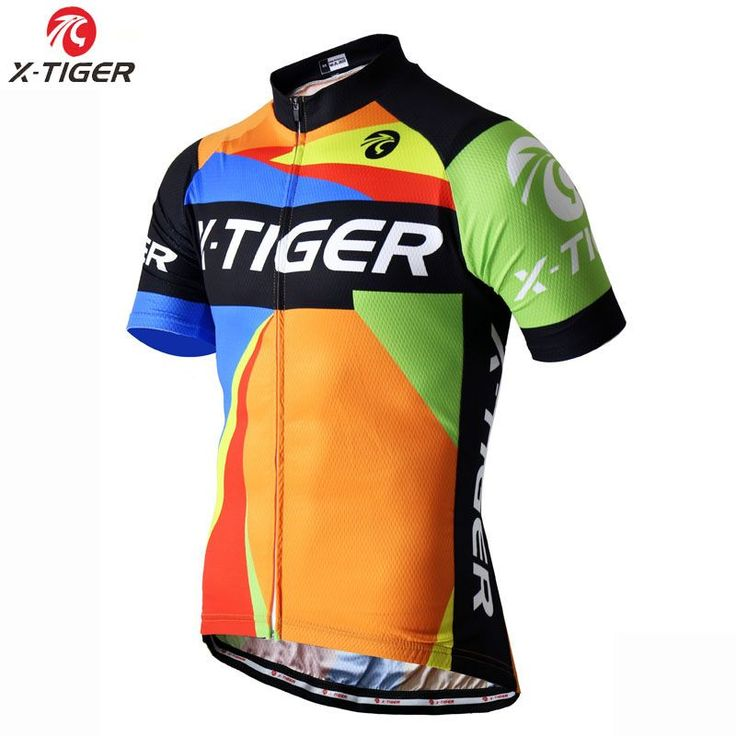 ff347cc80a77a4  Visit to Buy  X-TIGER 2017 Pro Cycling Clothing Summer Polyester Bicycle  Sportswear MTB Bike Clothing Maillot Ciclismo Jersey