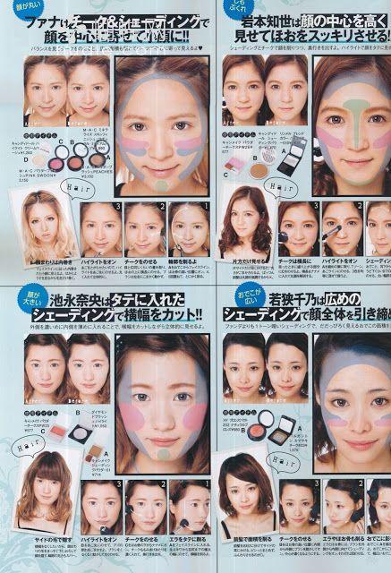 Makeup Tutorial Sections #AsianMakeupTutorial