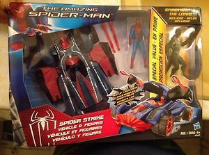 Marvel Spider MAN Spider Strike Vehicle With Figure | eBay