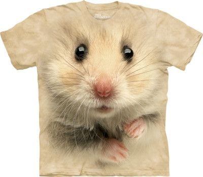 Hamster Big Face Pet T Shirt by the Mountain from yourgifthouse