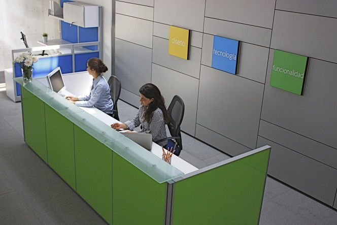 Muebles de oficina que reflejan la identidad de tu empresa - Poliarte - Muebles para oficina