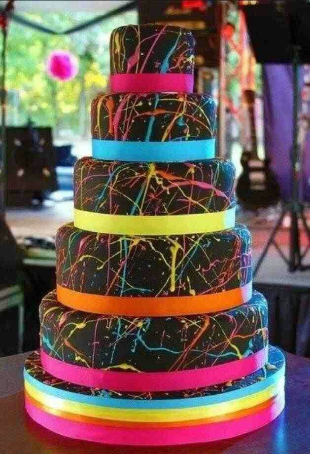 So Creative, i would like that for my birth day, cuz i am creative, but i wold prefer a cake that has a design i made (dress)