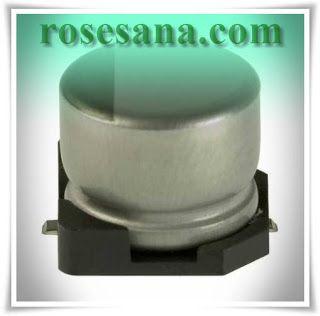 Nichicon Aluminium Electrolytic Capacitor 100uF 25V SMD 6.3x7.7mm