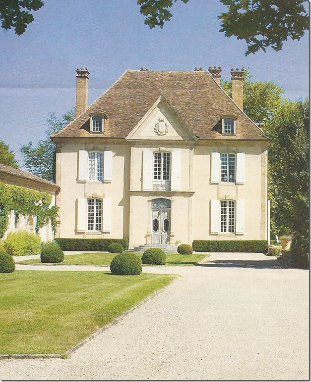 146 best french country homes images on pinterest for French country homes exterior