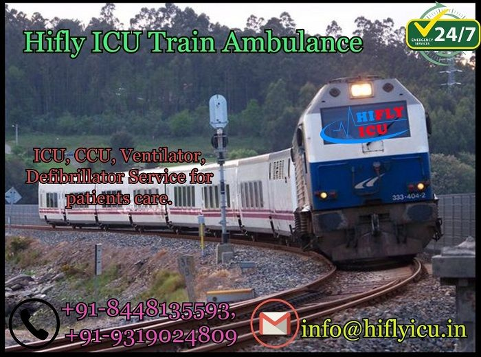Choose The Cost Effective Train Ambulance In Vellore With Latest