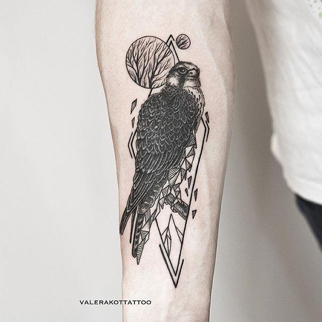Geometric and falcon for Dmitriy/ Геометрия и сокол для Дмитрия