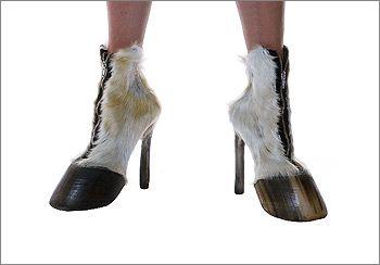 Hufe statt Schuh'