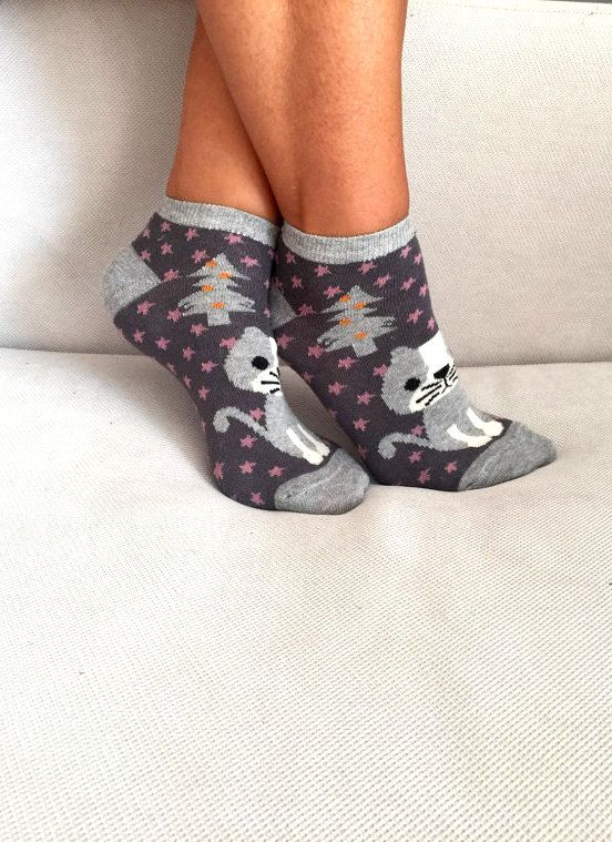 Women's Socks Cotton Socks Hosiery Gift for Her by Muggyshop