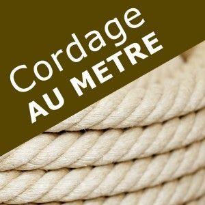 Corde Chanvre Naturel -Au Mètre-
