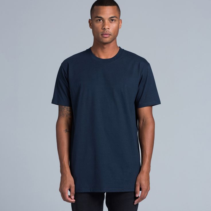 5026 Classic Tee - 100% Cotton -  Available in 10 Colours
