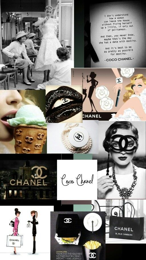 Chanel love.  Wallpaper for cell. ♡