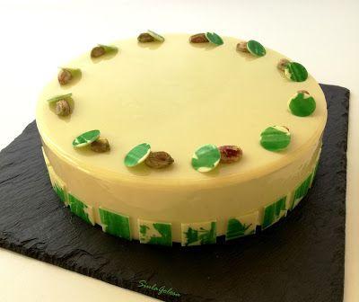 Siula Golosa: Torta vaniglia e pistacchio di I. Massari
