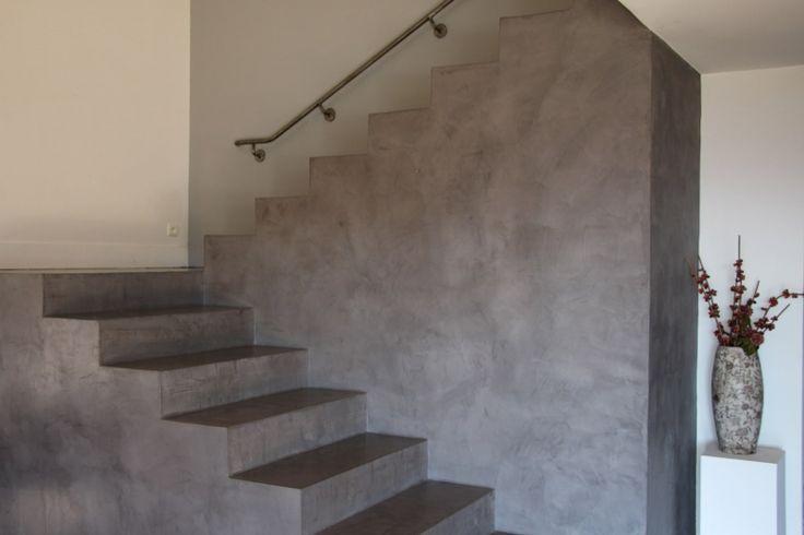 les 25 meilleures id es de la cat gorie escalier beton cir sur pinterest escalier en beton. Black Bedroom Furniture Sets. Home Design Ideas
