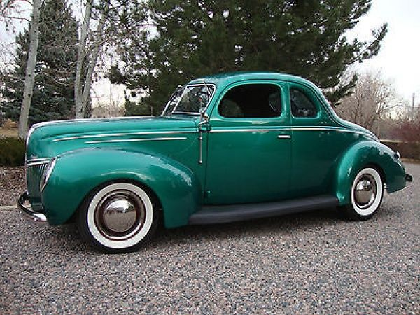 1939 Ford Coupe Moonshine Runner Hot Rod