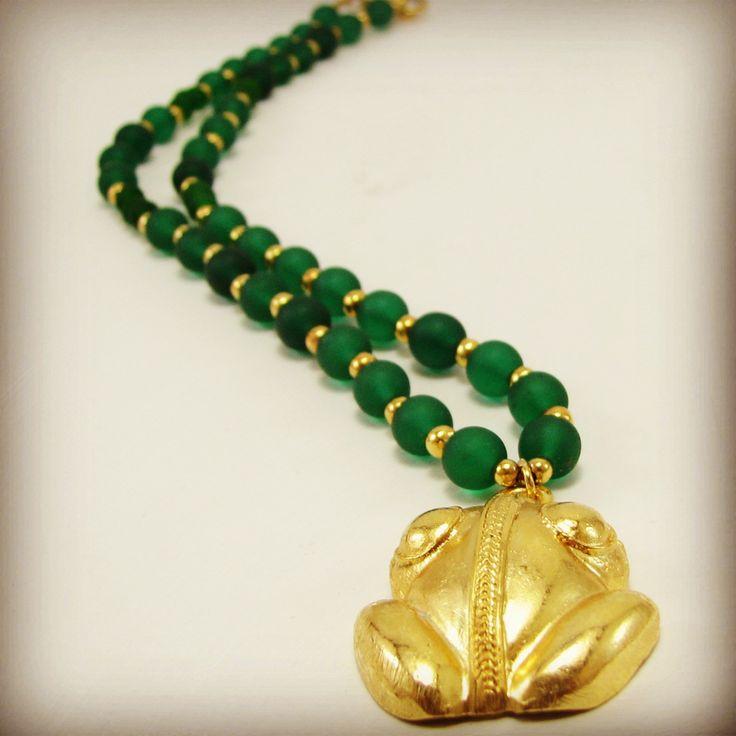 Rana #Collares #Precolombinos #Necklaces #Colombia